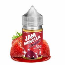 jam monster salt strawberry 24mg maroc