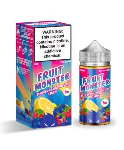Blueberry Raspberry Lemon fruit monster mycig maroc