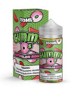 Watermelon rings gummy o's 100ml