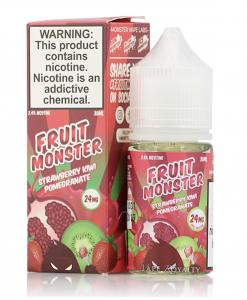Strawberry Kiwi Pomegranate Fruit Monster Salt 30ml