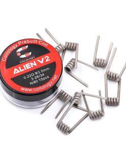 Alien V2 Coil Ni80 0.4ohm Coilology