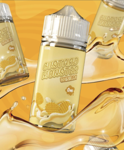 Vanilla Custard Monster Maroc 100ML