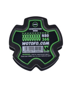 Ni80 Competition Wire 300ft (90m) 36Ga by Wotofo