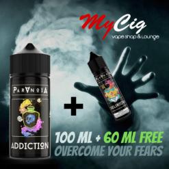 Promo Paranoia eliquide MyCig